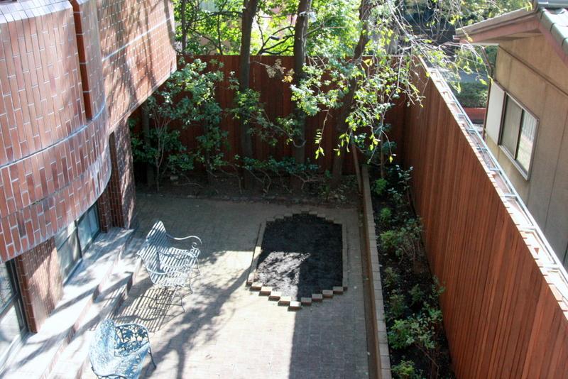 花咲園芸総研 舘林正也 施工例 大型ウッドフェンス