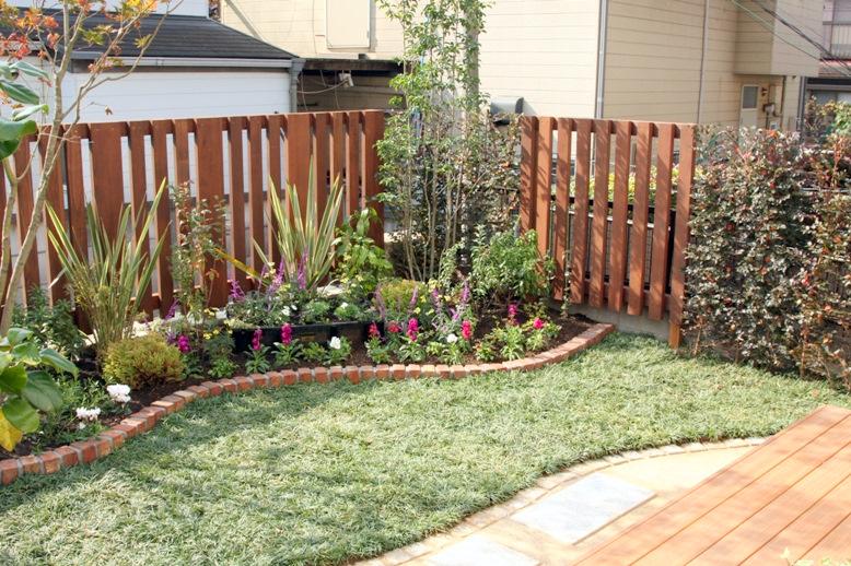 花咲園芸総研 舘林正也 施工例 日当たりを楽しむ庭